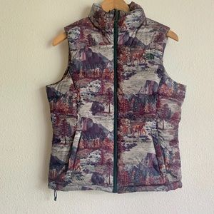 The North Face puffer vest